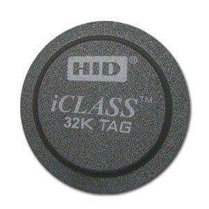 2064 - HID iCLASS® Tags, 32K - 100 Pack